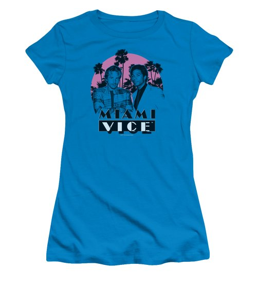 Miami Vice - Stupid Women's T-Shirt (Junior Cut) by Brand A