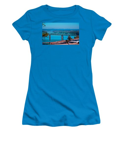 Miniature Bridge Women's T-Shirt (Athletic Fit)