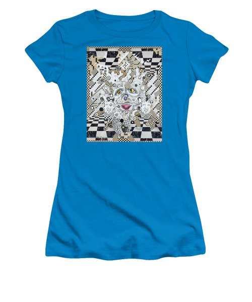 Olive Eyes Women's T-Shirt (Athletic Fit)