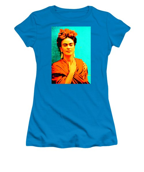 Orange You Glad It Is Frida Women's T-Shirt (Athletic Fit)