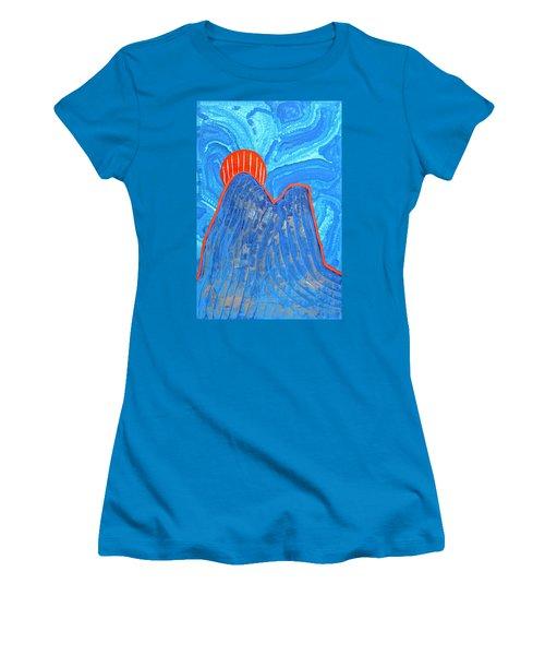 Os Dois Irmaos Original Painting Sold Women's T-Shirt (Junior Cut) by Sol Luckman