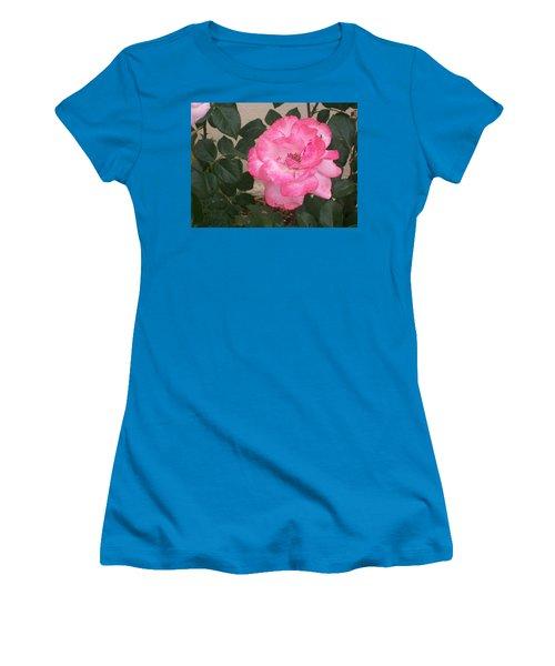 Passion Pink Women's T-Shirt (Junior Cut) by Jewel Hengen