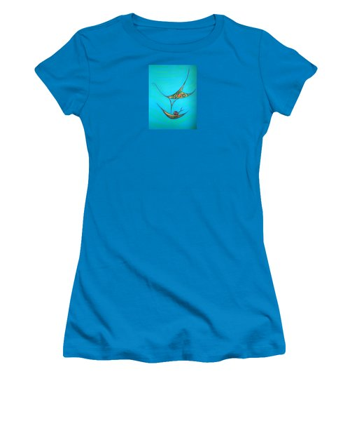 Pneuma Women's T-Shirt (Junior Cut) by Robert Nickologianis