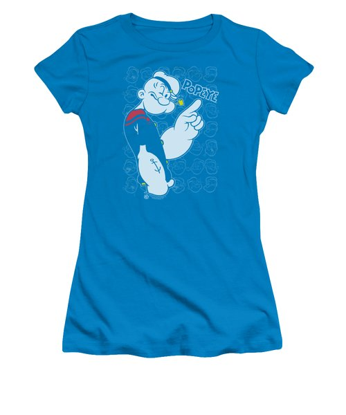 Popeye - Get To The Point Women's T-Shirt (Athletic Fit)