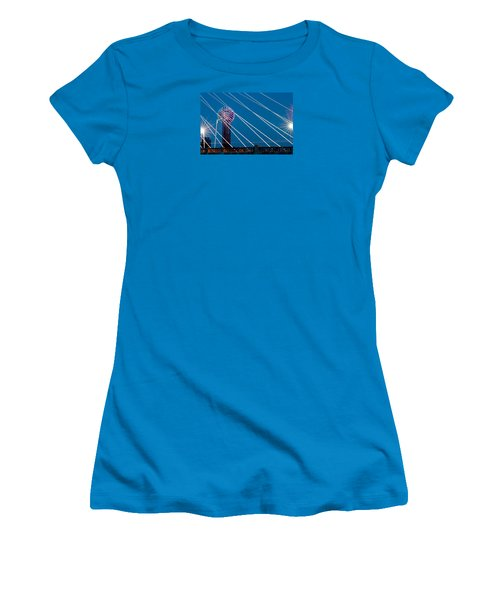 Reunion Tower Women's T-Shirt (Junior Cut) by Darryl Dalton