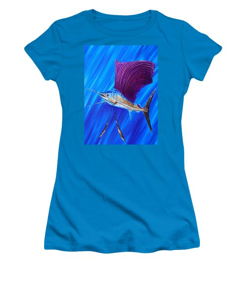Sailfish Women's T-Shirt (Athletic Fit)