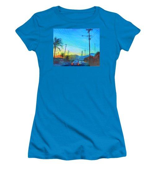 San Gabriel Rush Women's T-Shirt (Athletic Fit)