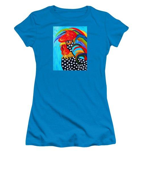 Spots Women's T-Shirt (Junior Cut) by Eloise Schneider