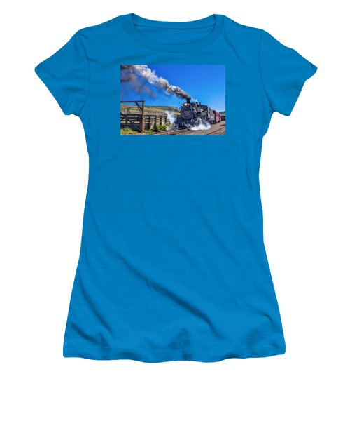 Steam Engine Relic Women's T-Shirt (Athletic Fit)