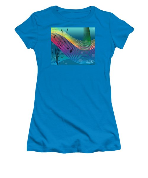 Sweet Dreams Abstract Women's T-Shirt (Athletic Fit)