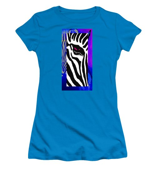 Women's T-Shirt (Junior Cut) featuring the photograph The Eye Beholds by I'ina Van Lawick
