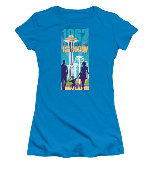 The Future Is Now - Daytime Women's T-Shirt (Athletic Fit)