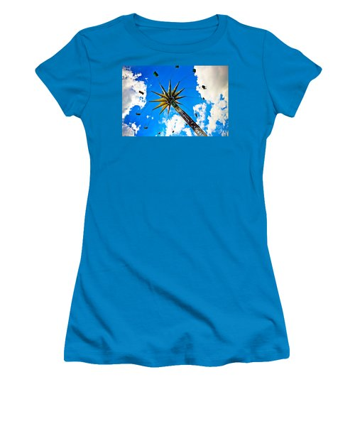 The Sky Flyer Women's T-Shirt (Athletic Fit)