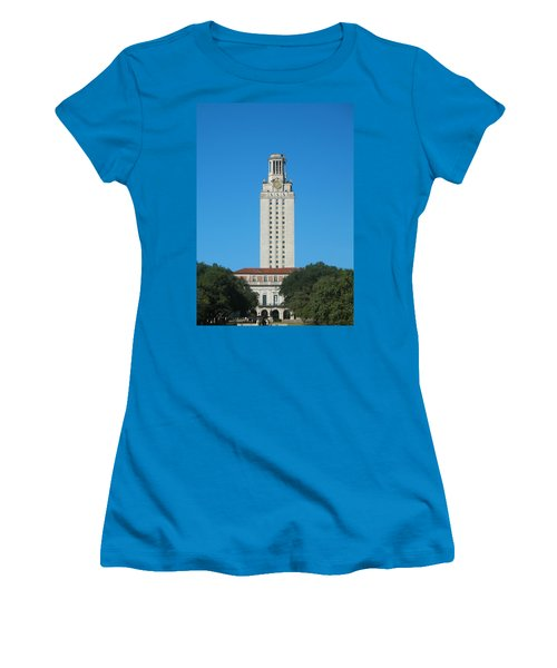 The University Of Texas Tower Women's T-Shirt (Athletic Fit)