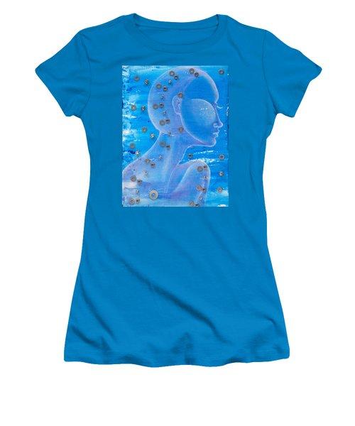 Thought Women's T-Shirt (Junior Cut) by Sheridan Furrer