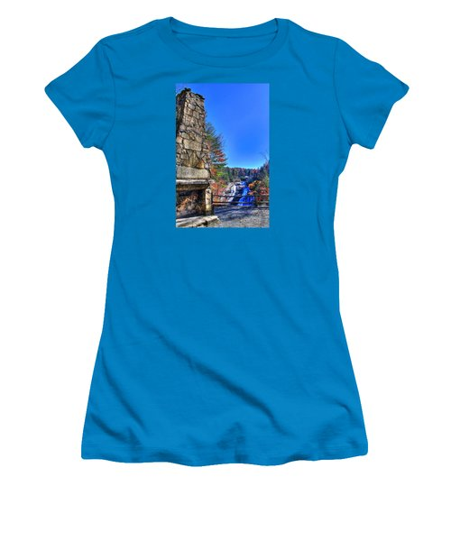 Triple Falls 2 Women's T-Shirt (Athletic Fit)