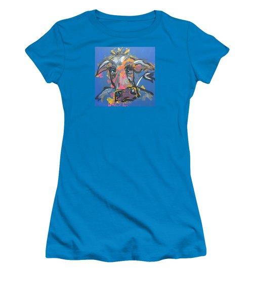 Utterly Funky Women's T-Shirt (Junior Cut) by Terri Einer