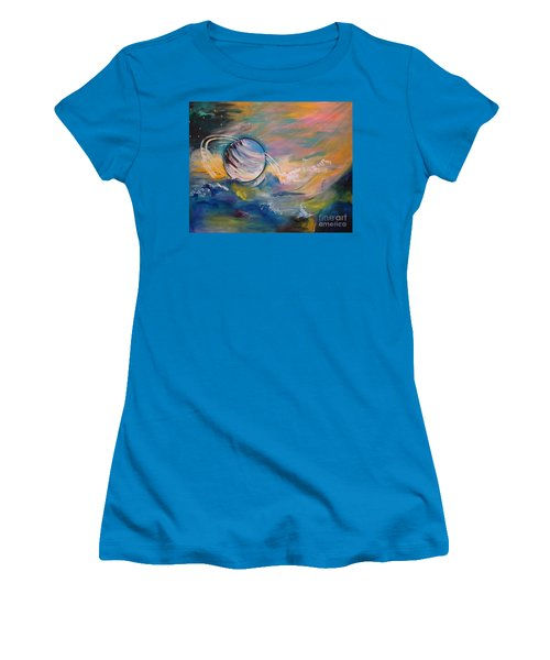 Who But You Could Leave A Trail Of Galaxies Women's T-Shirt (Athletic Fit)