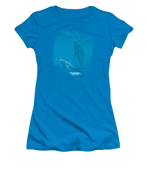 Wildlife - Atlantic Spotted Dolphin Women's T-Shirt (Athletic Fit)