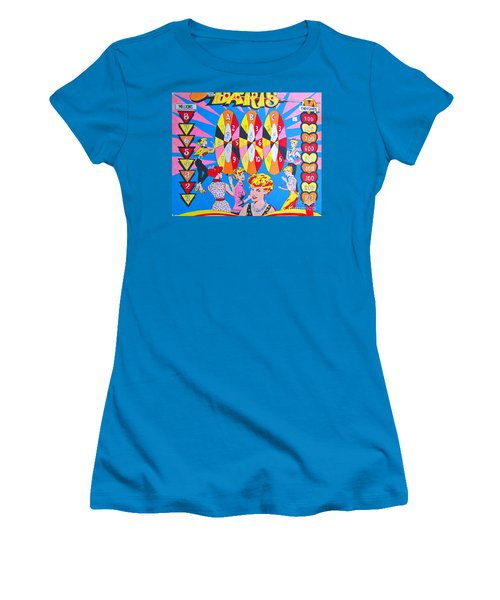 Girl Darts Women's T-Shirt (Athletic Fit)