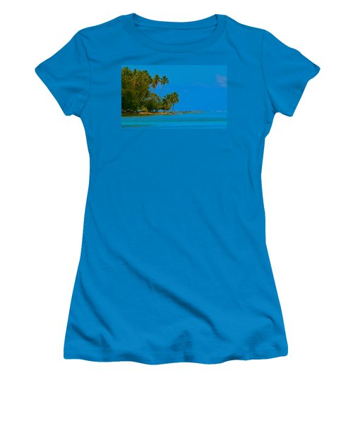 Women's T-Shirt (Junior Cut) featuring the photograph Coconuts Anyone by Eric Tressler