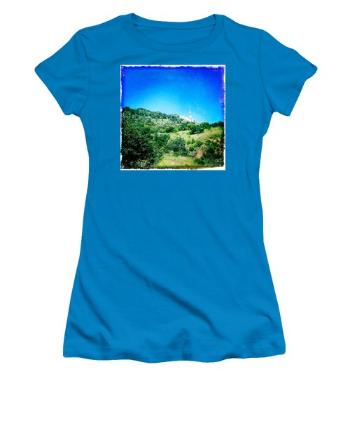 Women's T-Shirt (Junior Cut) featuring the photograph Hollywood by Nina Prommer