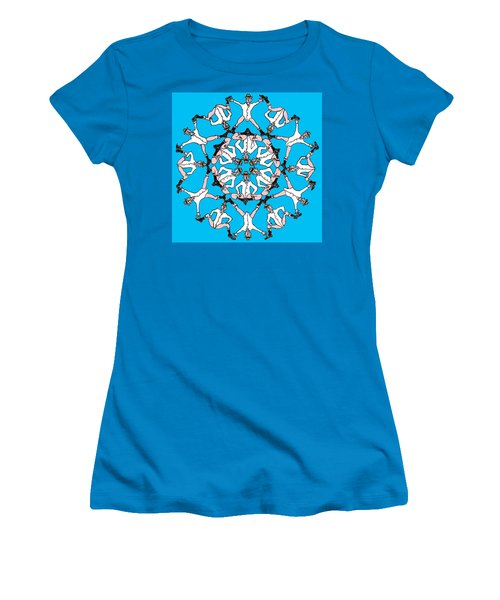 Kaleidoscoot Women's T-Shirt (Athletic Fit)
