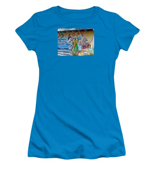 Keeping It Weird In Austin Women's T-Shirt (Junior Cut) by Patti Whitten