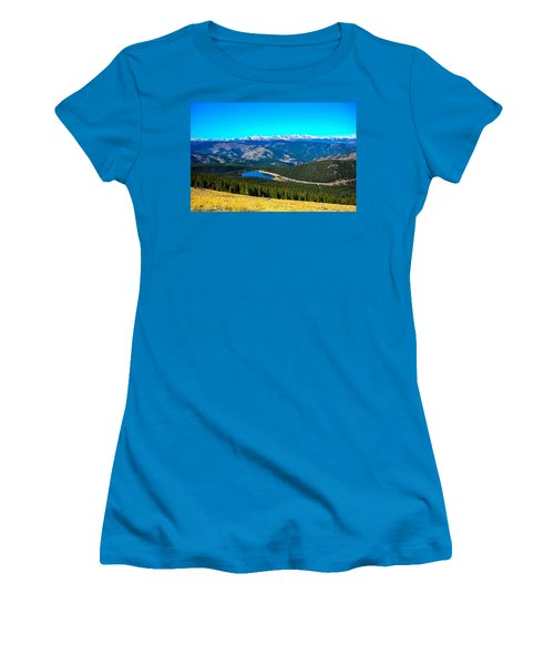 Women's T-Shirt (Junior Cut) featuring the photograph Paradise by Shannon Harrington