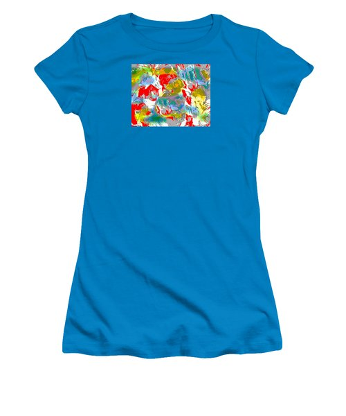 Secrets Women's T-Shirt (Junior Cut) by Beth Saffer