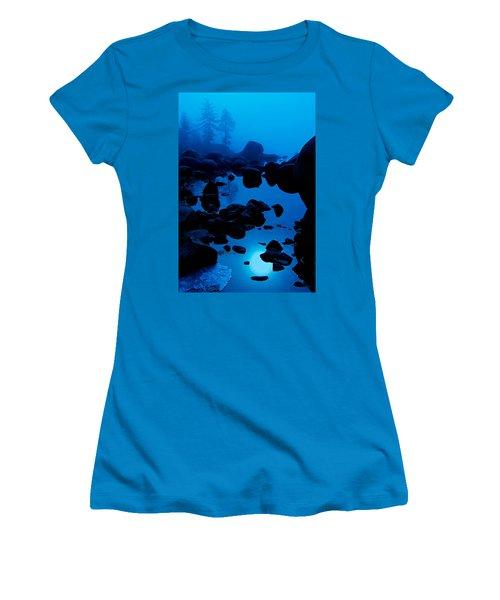 Arise From The Fog Women's T-Shirt (Junior Cut) by Sean Sarsfield