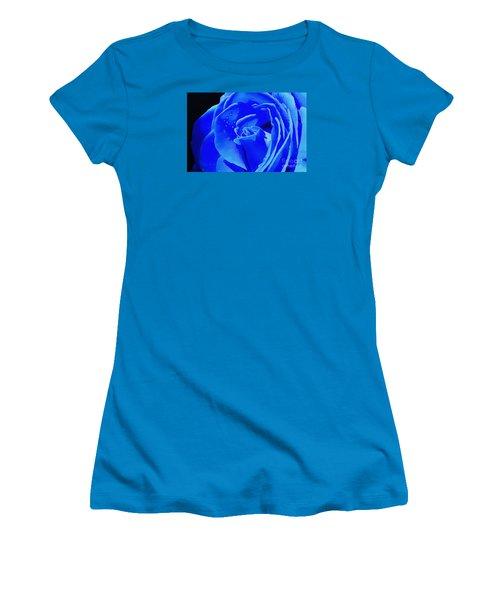 Blue Romance Women's T-Shirt (Athletic Fit)