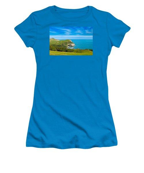 Cape Farewell Able Tasman National Park Women's T-Shirt (Athletic Fit)