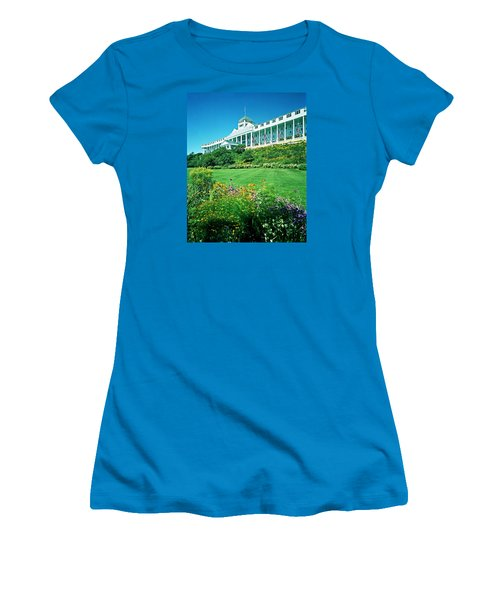 Grand Hotel From Tea Garden Women's T-Shirt (Athletic Fit)