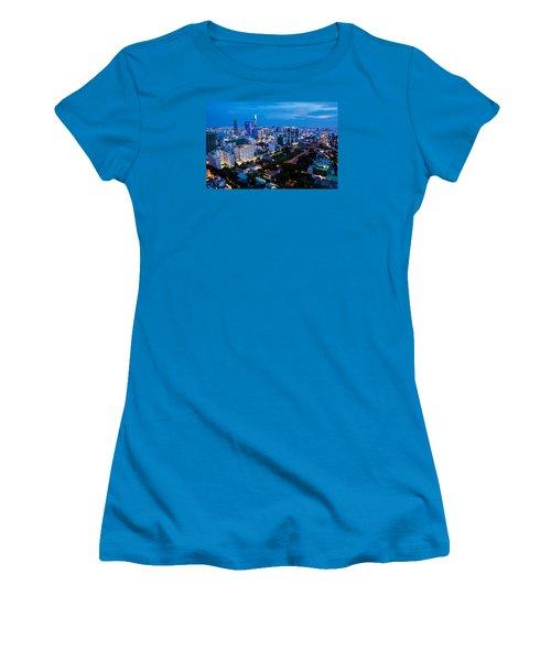 Ho Chi Minh City Night Women's T-Shirt (Athletic Fit)
