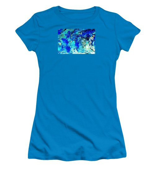 Koi Abstract Women's T-Shirt (Athletic Fit)