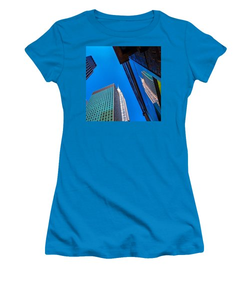Photoshopping #tbt #nyc Summer Of 2013 Women's T-Shirt (Athletic Fit)