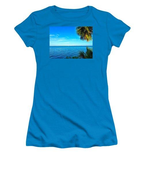 Private Paradise Women's T-Shirt (Junior Cut) by Carlos Avila