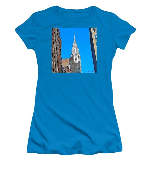 #tbt - #newyorkcity June 2013 Women's T-Shirt (Athletic Fit)