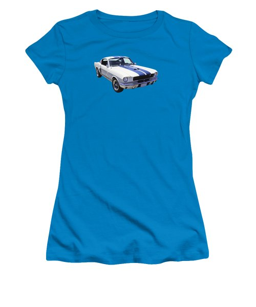 1965 Gt350 Mustang Muscle Car Women's T-Shirt (Athletic Fit)