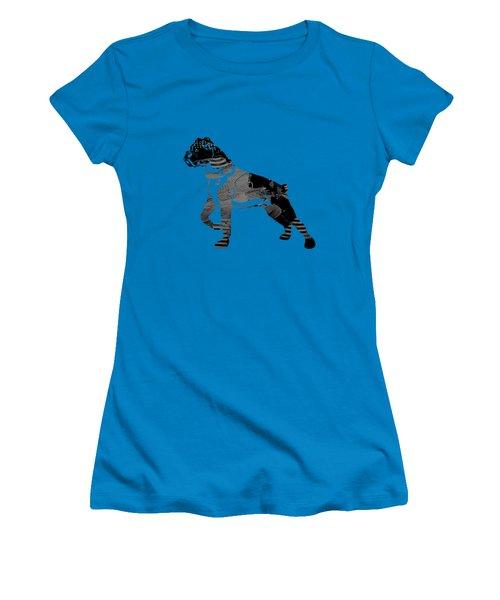 Boxer Collection Women's T-Shirt (Junior Cut) by Marvin Blaine