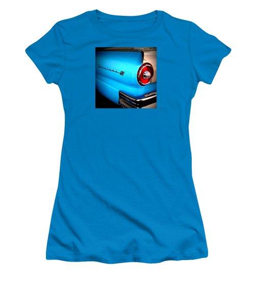 57 Ford Fairlane  Women's T-Shirt (Junior Cut) by Nick Kloepping