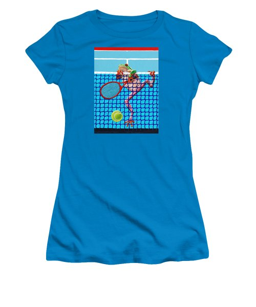 A Net Violation Women's T-Shirt (Junior Cut) by John Lautermilch