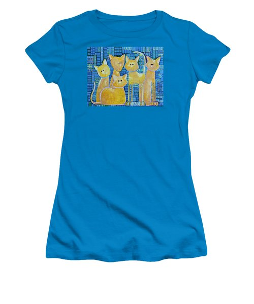 A Quorum Of Cats Women's T-Shirt (Athletic Fit)