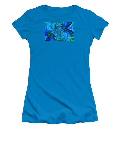 A Walk In The Gallery Women's T-Shirt (Junior Cut) by Chad and Stacey Hall
