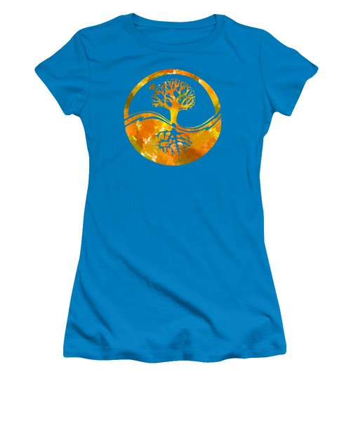 Women's T-Shirt (Junior Cut) featuring the photograph Abstract I by Christina Rollo