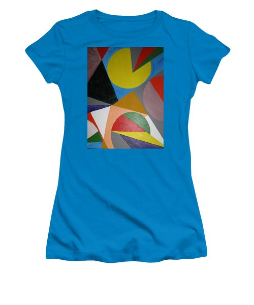Accidental Pacman Women's T-Shirt (Junior Cut) by Barbara Yearty