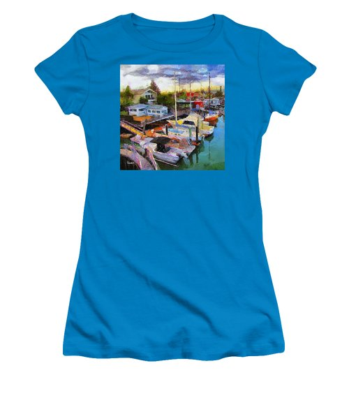 Alameda Life On The Estuary 2 Women's T-Shirt (Athletic Fit)
