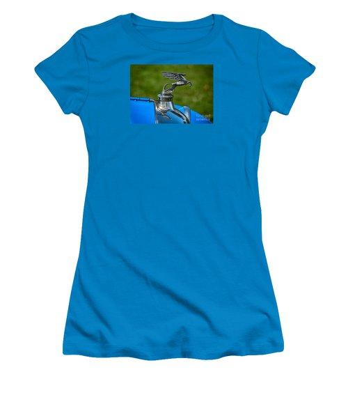Amilcar Pegasus Emblem Women's T-Shirt (Junior Cut) by Adrian Evans