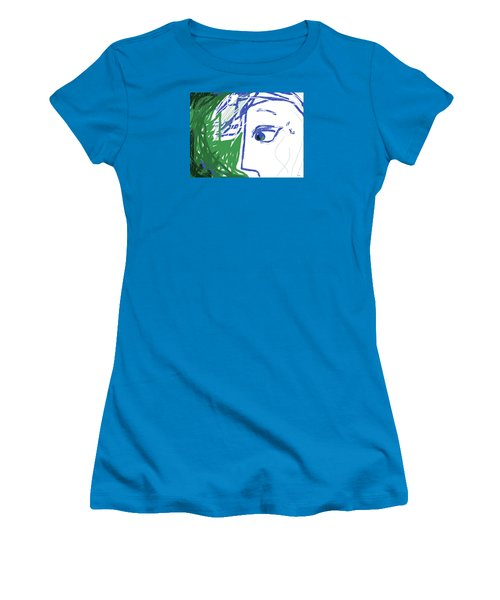 An Eye's View Women's T-Shirt (Junior Cut) by Mary Armstrong